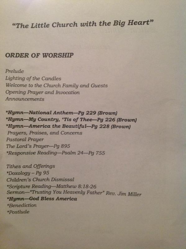 Salem United Methodist Church - Worship Service